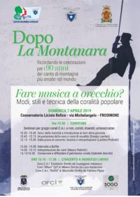 ALLIEVI coro CET – Concerto a Frosinone (FR)